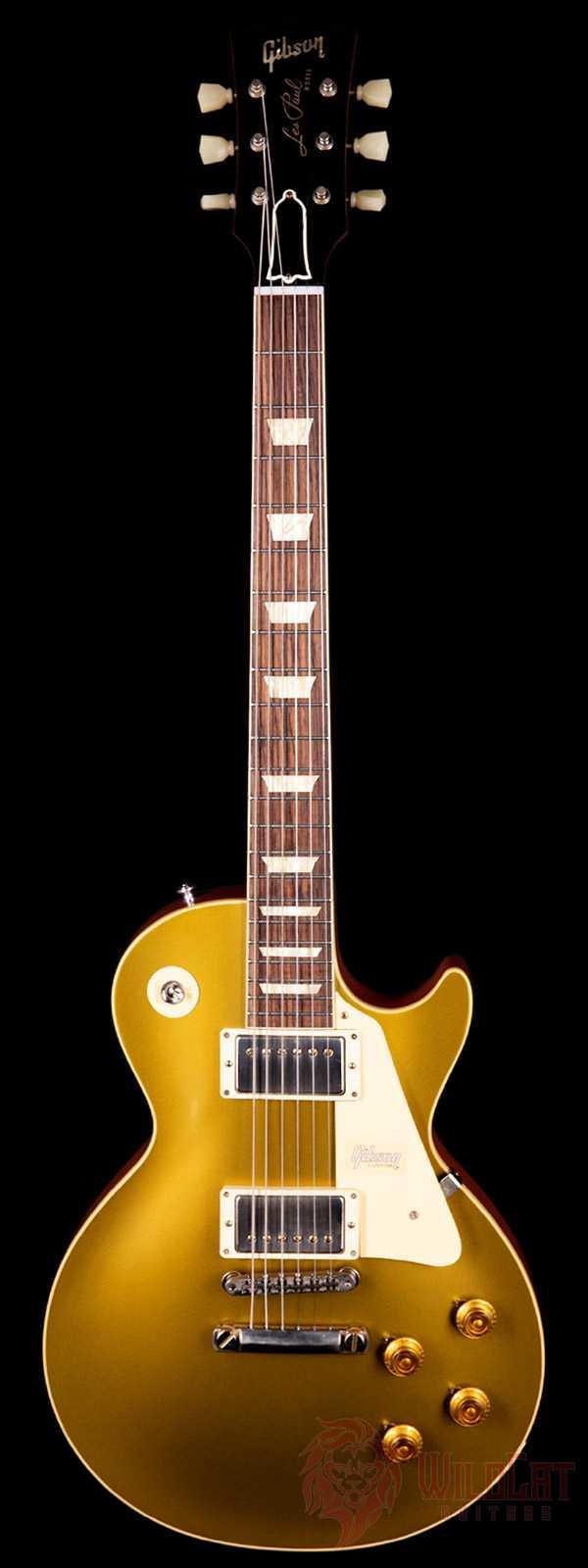 Gibson Custom Shop 1957 Les Paul Goldtop Reissue VOS Double Gold Light Back