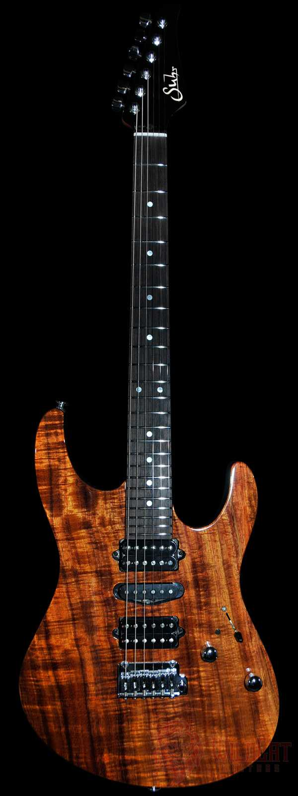 Suhr Modern Koa 1-Piece Top Roasted Maple Neck
