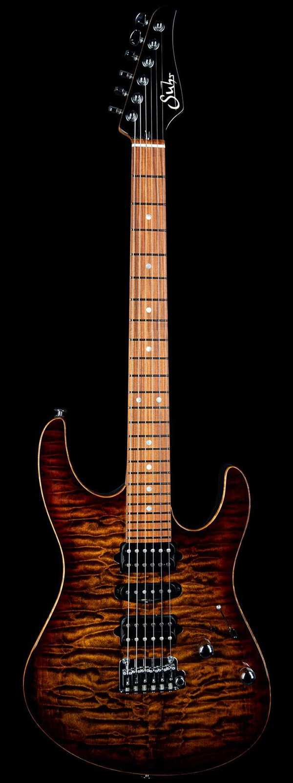 Suhr Modern Roasted Neck Pau Ferro Board Bengal Burst