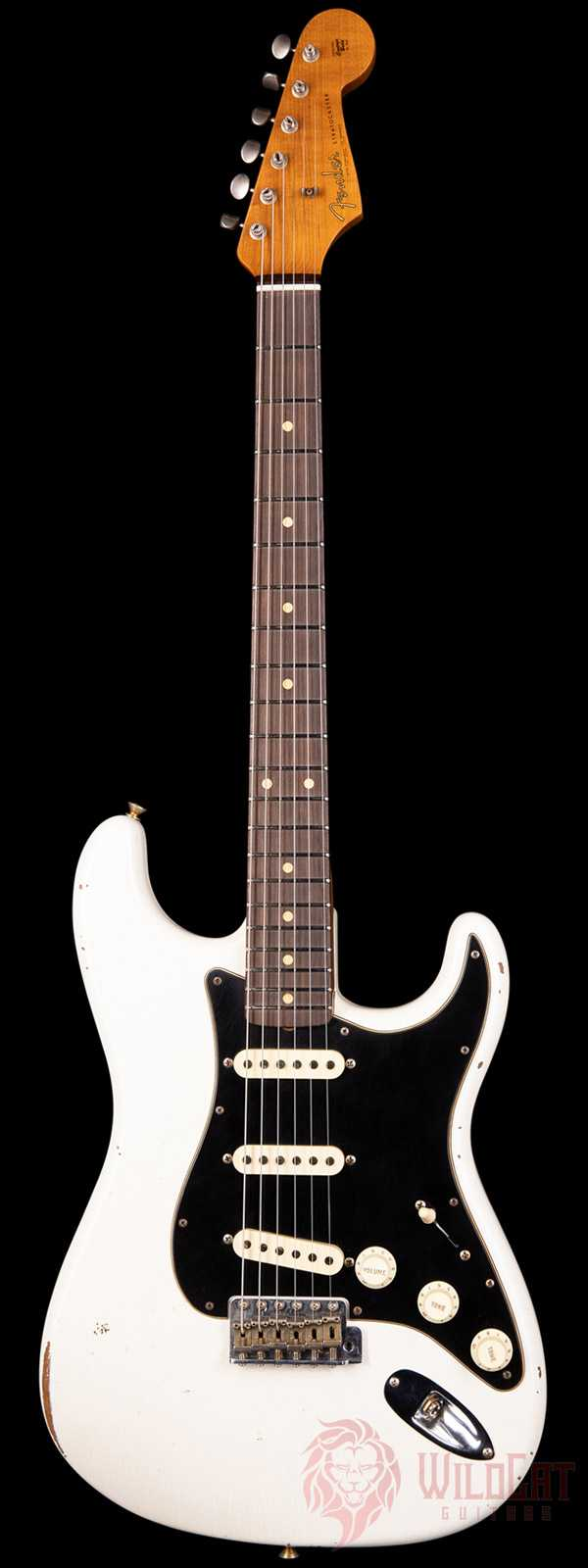 Fender Custom Shop Limited Edition Roasted Poblano Stratocaster Relic Aged Olympic White