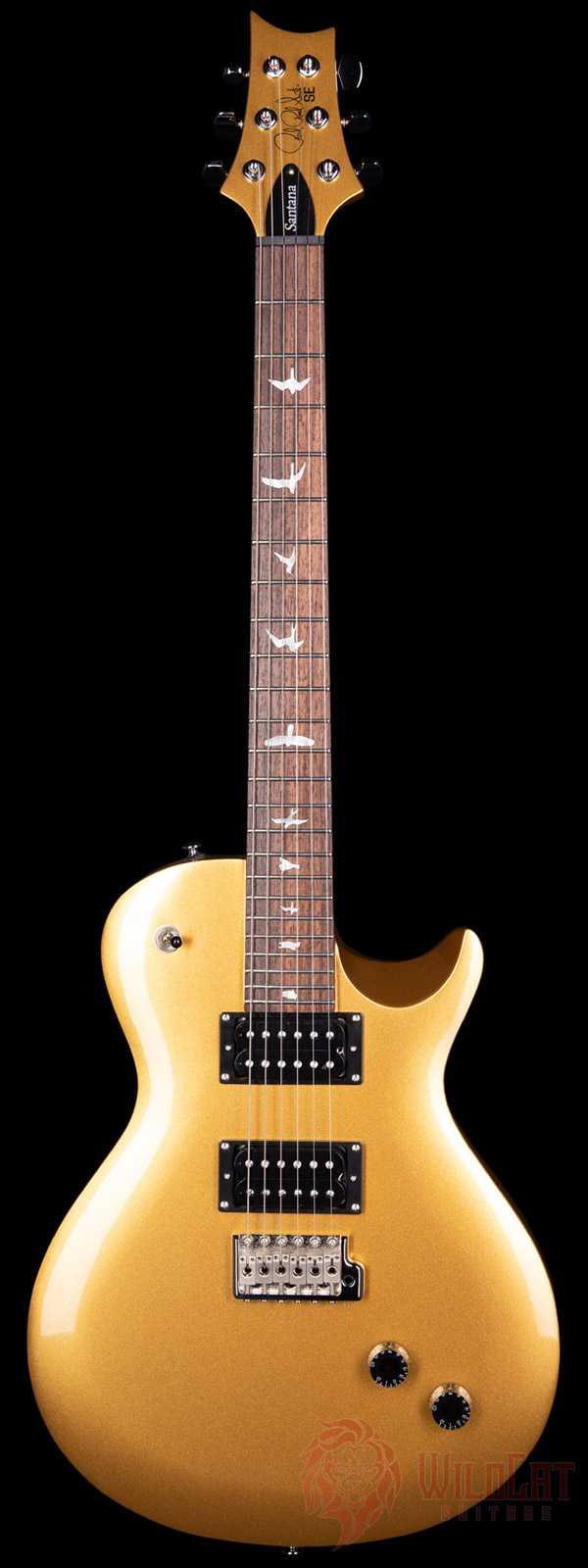 PRS SE Santana Singlecut Tremolo Egyptian Gold