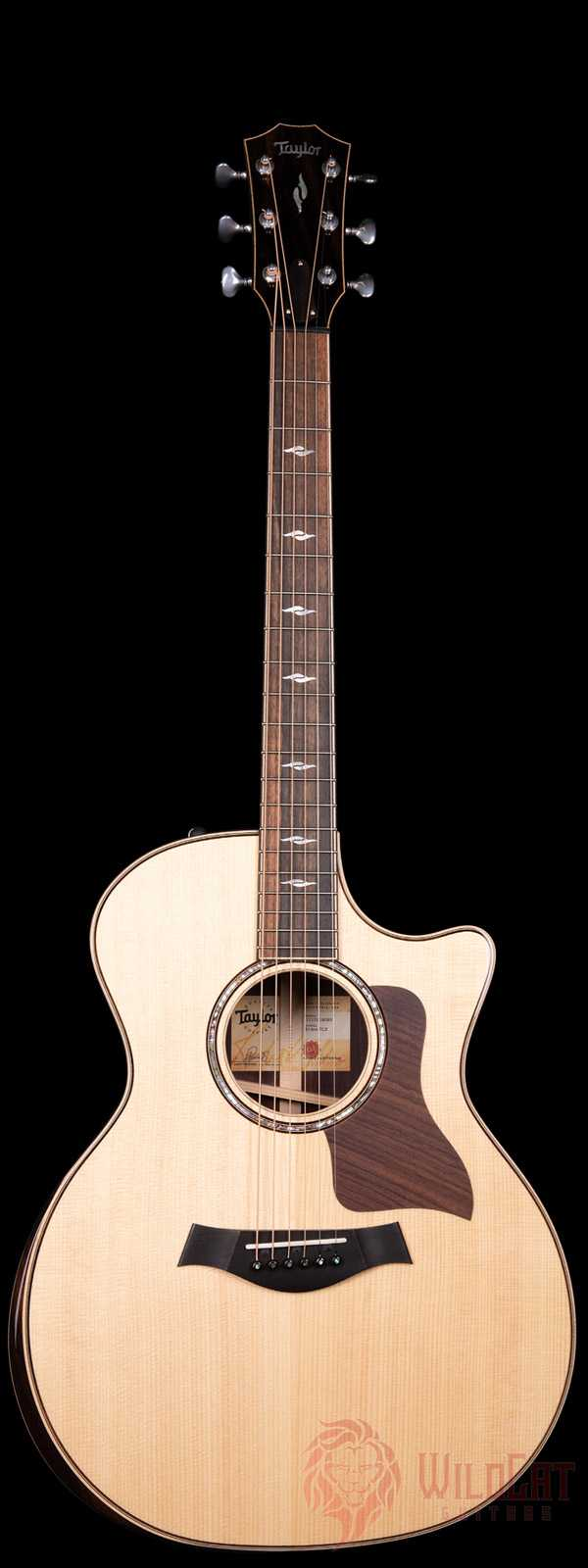 Taylor 814ce DLX V-Class with Venetian Cutaway