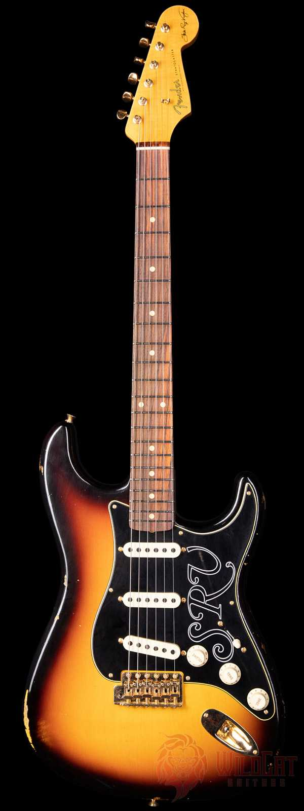 Fender Custom Shop Stevie Ray Vaughan Signature Stratocaster Relic Faded 3-Tone Sunburst