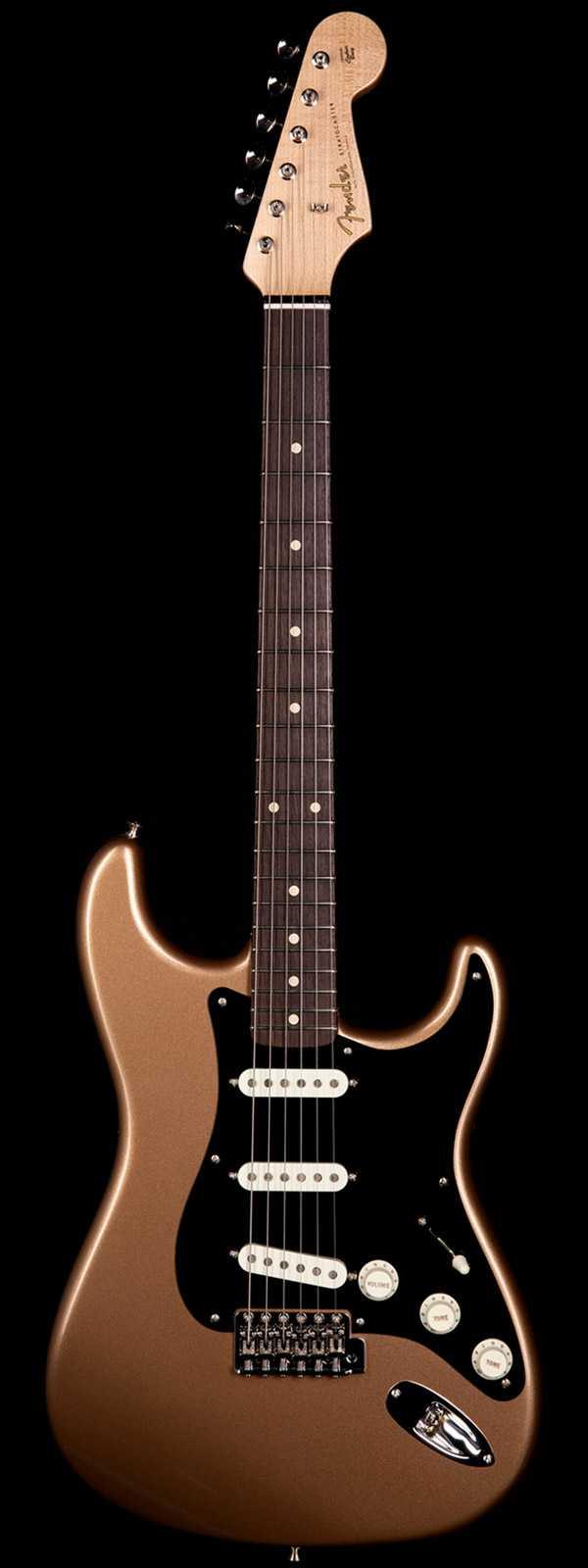 Fender Custom Shop 1963 Stratocaster NOS Roasted Alder Body Firemist Gold