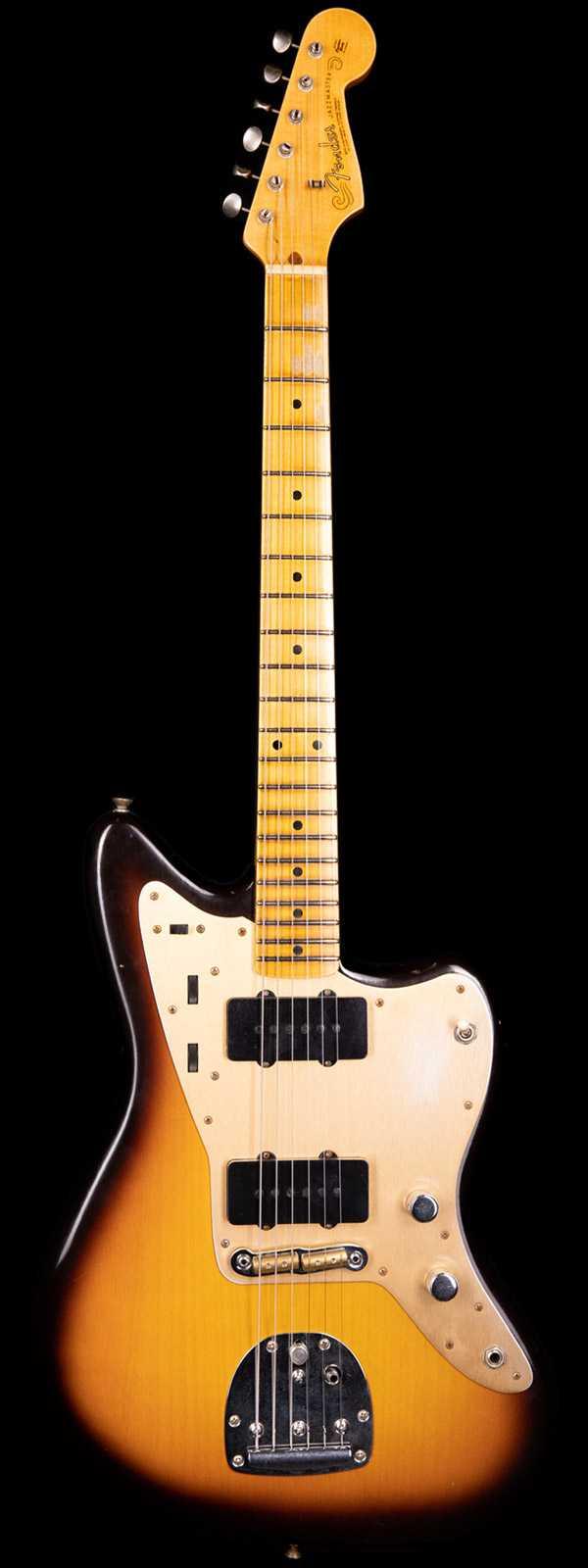 Fender Custom Shop 1958 Jazzmaster Journeyman Relic Limited Edition Flash Coat Chocolate 3-Tone Sunburst