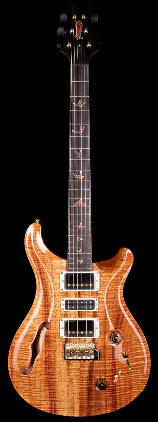 PRS Private Stock 8521 Special Semi-Hollow w/ F-Hole Koa Top Ebony Fretboard Natural Finish