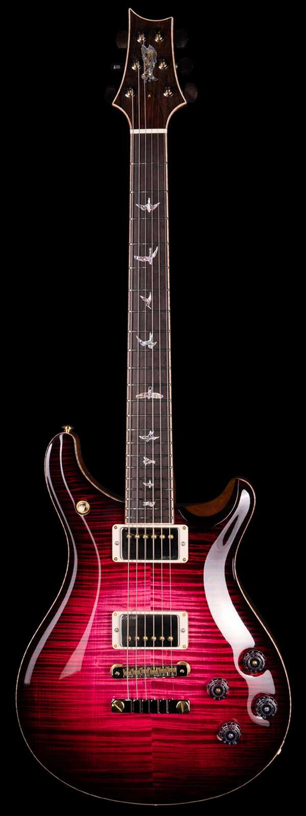 PRS Private Stock 8523 McCarty 594 Flame Maple Top Brazilian Board Graveyard Red Glow