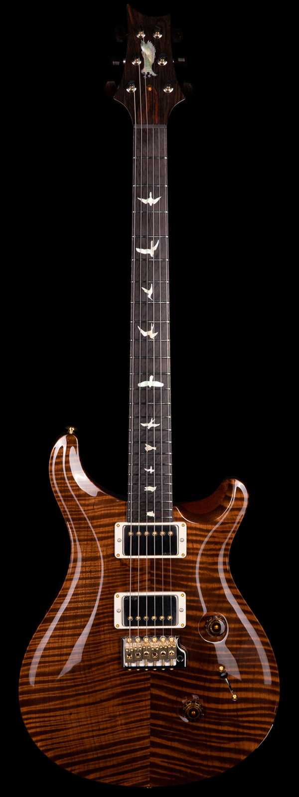 PRS Private Stock 8506 Custom 24 Roasted Flame Maple Top Brazilian Board Natural Finish