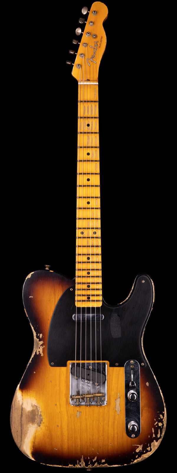 Fender Custom Shop 1952 Telecaster Heavy Relic 2-Tone Sunburst