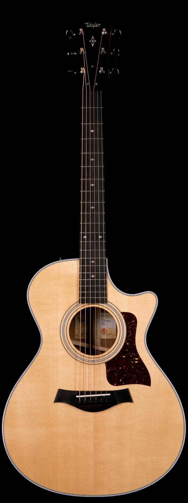 Taylor 412ce Acoustic Electric Natural Finish