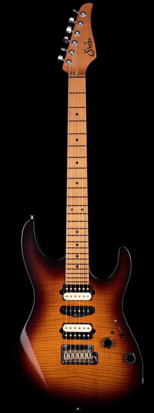 Suhr Modern Antique Flame Maple Top 2-Tone Tobacco Burst