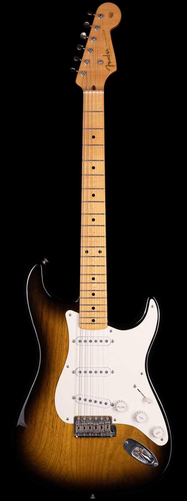 Fender Custom Shop 2004 Masterbuilt John English 1954 50th Anniversary Stratocaster Relic 2-Tone Sunburst