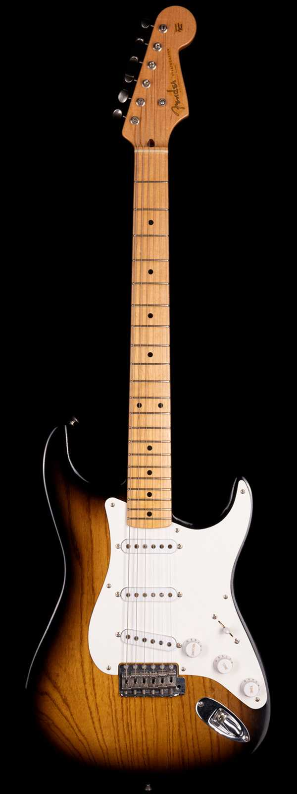 Fender Custom Shop 2004 Masterbuilt Yuriy Shishkov 1954 50th Anniversary Stratocaster Relic 2-Tone Sunburst